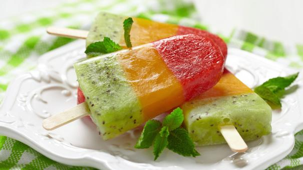 Easy recipes for ice pops