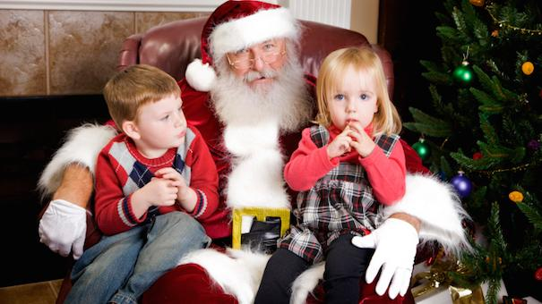 its a time honored tradition standing in line at the mall to see santa it can be a pleasant experience short lines an engaging santa and the picture - Santa And Kids